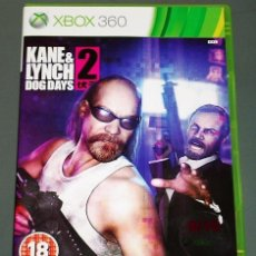 Videojuegos y Consolas: JUEGO GAME XBOX 360 KANE & LYNCH DOG DAYS. Lote 118339439