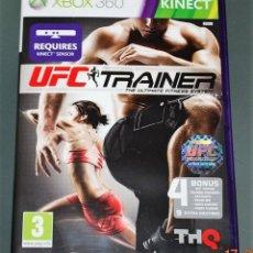 Videojuegos y Consolas: JUEGO GAME XBOX 360 UFC TRAINER. Lote 118340071