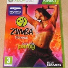 Videojuegos y Consolas: JUEGO GAME XBOX 360 ZUMBA FITNESS. Lote 118341703