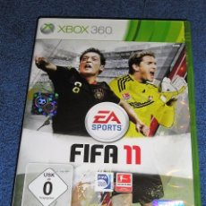 Videojuegos y Consolas: JUEGO GAME XBOX 360 FIFA 11. Lote 118344883