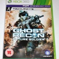 Videojuegos y Consolas: JUEGO GAME XBOX 360 GHOST RECON FUTURE SOLDIER. Lote 118349011