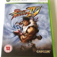 Videojuegos y Consolas: JUEGO GAME XBOX 360 STREET FIGHTER IV. Lote 118349655
