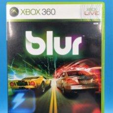 Videojuegos y Consolas: JUEGO GAME XBOX 360 BLUR. Lote 118349959