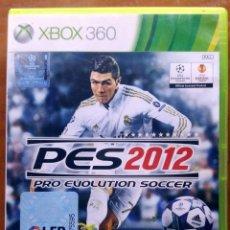 Videojuegos y Consolas: PRO EVOLUTION SOCCER 2012 (PES 2012) • X-BOX 360 (PAL). Lote 118831603