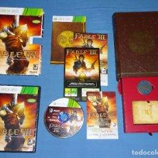 Videojuegos y Consolas: JUEGO XBOX 360 - FABLE III 3 EDICIÓN COLECCIONISTA - COMPLETO - PAL ESPAÑA. Lote 119044607