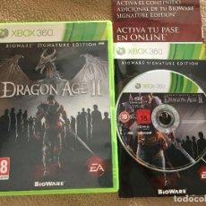 Videojuegos y Consolas: DRAGON AGE II 2 BIOWARE SIGNATURE EDITION XBOX 360 X360 X-360 KREATEN . Lote 119557215