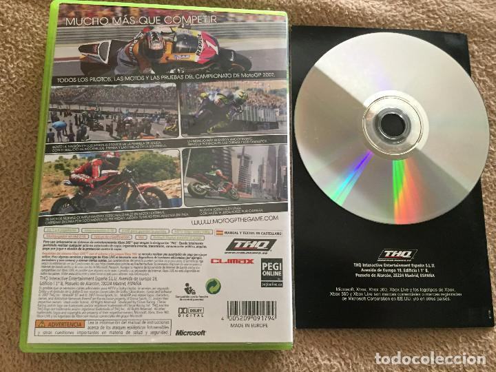 Videojuegos y Consolas: MOTO GP 07 XBOX 360 X360 X-360 KREATEN - Foto 2 - 119557735