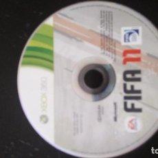 Videojuegos y Consolas: XBOX 360 - FIFA 11 (SOLO DISCO). Lote 119619595