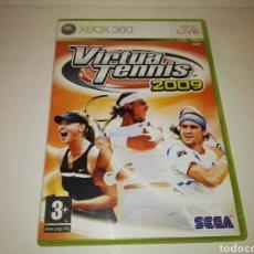 Videojuegos y Consolas: VIRTUA TENNIS 2009 PAL SPAIN/ESPAÑA XBOX 360/SEGA. Lote 119864238