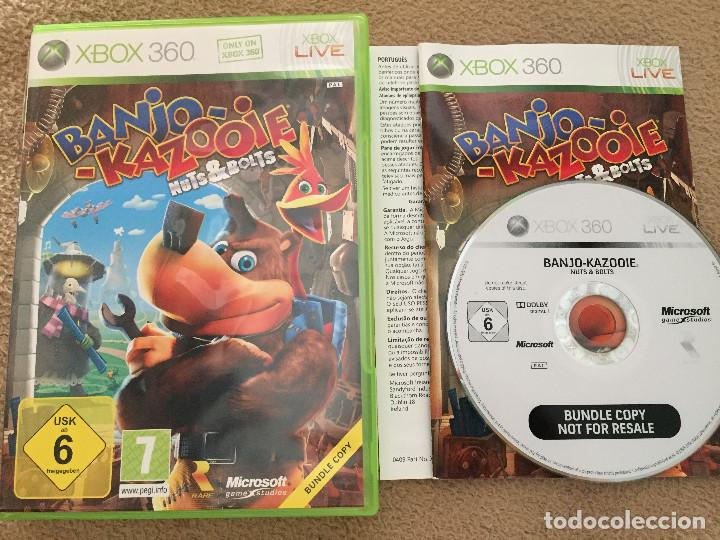 BANJO KAZOOIE NUTS & BOLTS bundle copy XBOX 360 X360 X-360 KREATEN