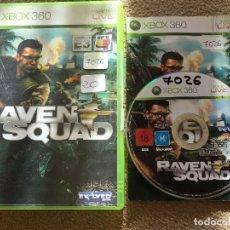 Videojuegos y Consolas: RAVEN SQUAD XBOX 360 X360 KREATEN. Lote 119912383