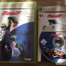 Videojuegos y Consolas: MOTO GP 07 MOTOGP 2007 XBOX 360 X360 KREATEN. Lote 119913183