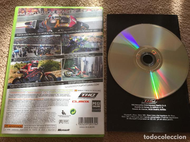 Videojuegos y Consolas: MOTO GP 07 MOTOGP 2007 XBOX 360 X360 KREATEN - Foto 2 - 119913183