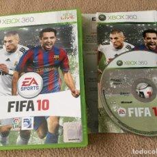 Videojuegos y Consolas: FIFA 10 XBOX 360 X360 X-360 KREATEN . Lote 120355415