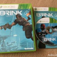 Videojuegos y Consolas: BRINK BETHESDA - XBOX 360 X360 X-360 KREATEN. Lote 120355683