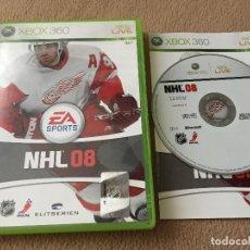 Videojuegos y Consolas: NHL 08 - XBOX 360 X360 X-360 KREATEN. Lote 120436399