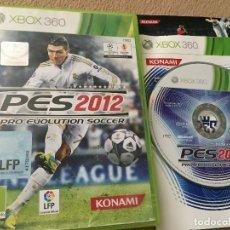 Videojuegos y Consolas: PES 2012 PRO EVOLUTION SOCCER 12 - XBOX 360 X360 X-360 KREATEN. Lote 120436855