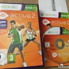 Videojuegos y Consolas: EA SPORTS ACTIVE 2 PERSONAL TRAINER - XBOX 360 X360 X-360 KREATEN. Lote 120437779