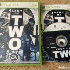 Videojuegos y Consolas: ARMY OF TWO - XBOX 360 X360 X-360 KREATEN. Lote 120442531