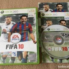 Videojuegos y Consolas: FIFA 10 2010 - XBOX 360 X360 X-360 KREATEN. Lote 120458711
