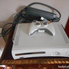 Videojuegos y Consolas: MICROSOFT XBOX 360 CORE BLANCA, COMPLETA CON CABLES Y MANDO. BUEN ESTADO. Lote 121541251