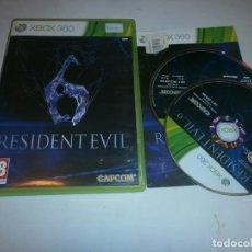 Videojuegos y Consolas: RESIDENT EVIL 6 XBOX 360 PAL. Lote 150334998