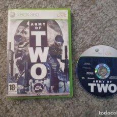 Videojuegos y Consolas: XBOX ARMY OF TWO. Lote 122406603