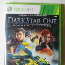 Videojuegos y Consolas: DARKSTAR ONE BROKEN ALLIANCE (XBOX 360). Lote 124618943