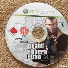 Videojuegos y Consolas: GRAND THEFT AUTO IV GTA 4 XBOX 360 X360 X-360 X-BOX . Lote 124677319