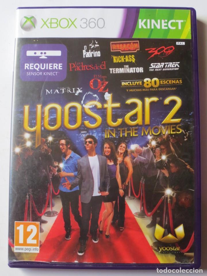 YOOSTAR 2 IN THE MOVIES (XBOX 360 KINECT) (Juguetes - Videojuegos y Consolas - Microsoft - Xbox 360)