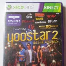 Videojuegos y Consolas: YOOSTAR 2 IN THE MOVIES (XBOX 360 KINECT). Lote 127210279