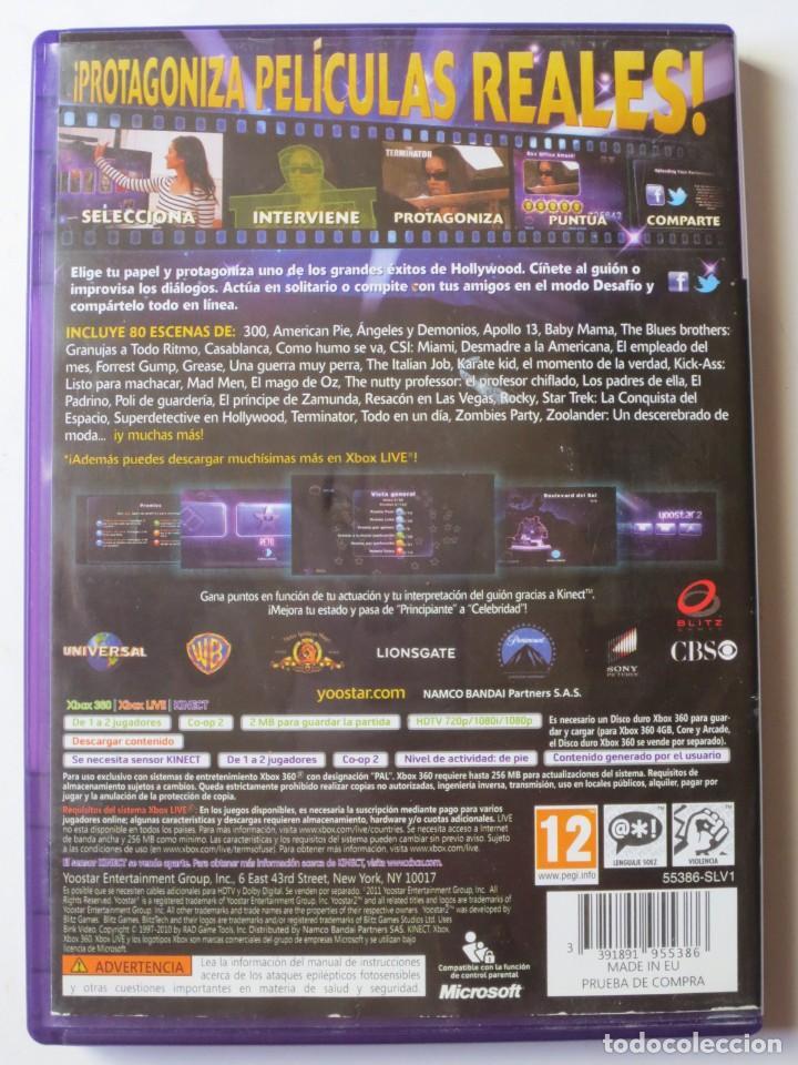 Videojuegos y Consolas: Yoostar 2 In The Movies (Xbox 360 Kinect) - Foto 2 - 127210279