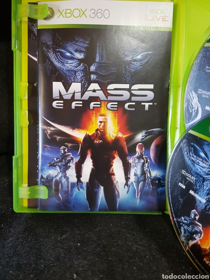 XBOX 360 MASS EFFECT CLASSICS DISCO EXTRA