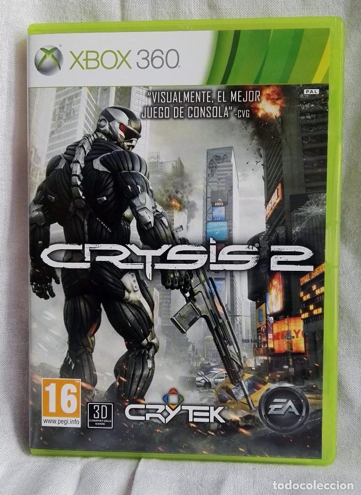 Lote 2 Juegos Para Xbox 360 Crysis 2 Y Crysis Comprar Videojuegos