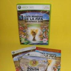 Videojuegos y Consolas: COPA MUNDIAL DE LA FIFA SUDÁFRICA 2010 XBOX 360 / XBOX360. Lote 127931571