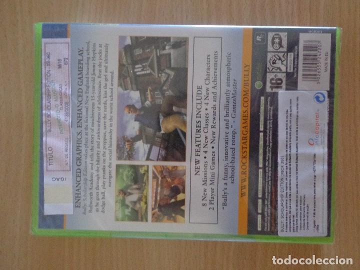 Videojuegos y Consolas: Juego XBOX Bully Scholarship Edition Precintado nuevo PAL - Foto 2 - 128010147