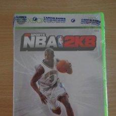 Videojuegos y Consolas: JUEGO XBOX 2K SPORTS NBA 2K8 PRECINTADO NUEVO PAL . Lote 128010443