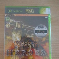 Videojuegos y Consolas: JUEGO XBOX KINGDOM UNDER FIRE HEROES PRECINTADO NUEVO PAL . Lote 128011299