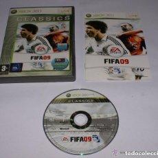 Videojuegos y Consolas: JUEGO XBOX 360 FIFA 09 CLASSICS. Lote 128301483