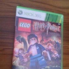 Videojuegos y Consolas: HARRY POTTER. AÑOS 5-7. LEGO. XBOX 360. BUEN ESTADO. SIN LIBRETO. Lote 128432167