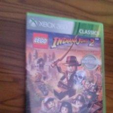 Videojuegos y Consolas: INDIANA JONES 2. THE ADVENTURE CONTINUES. LEGO. XBOX 360. BUEN ESTADO. CON LIBRETO . Lote 128433499