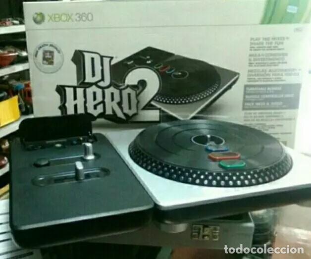 Xbox360 Juego Dj Hero 2 Con Mesa De Mezclas Comprar Videojuegos Y