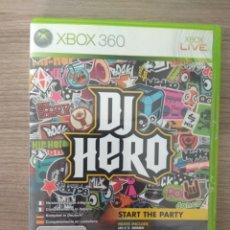 Videojuegos y Consolas: JUEGO ORIGINAL DE DJ HERO PARA XBOX 360. Lote 110936274