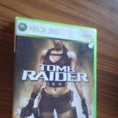 Videojuegos y Consolas: TOMB RAIDER. UNDERWORLD. XBOX 360 CON LIBRETO. DOBLE DISCO. BUEN ESTADO.. Lote 158008500