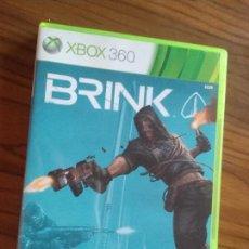 Videojuegos y Consolas: BRINK. XBOX 360 CON LIBRETO. BUEN ESTADO. . Lote 129032091