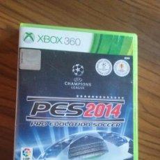 Videojuegos y Consolas: PES 2014. XBOX 360 CON LIBRETO. BUEN ESTADO. . Lote 129032271