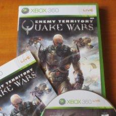Videojuegos y Consolas: ENEMY TERRITORY: QUAKE WARS (XBOX 360). Lote 130102283
