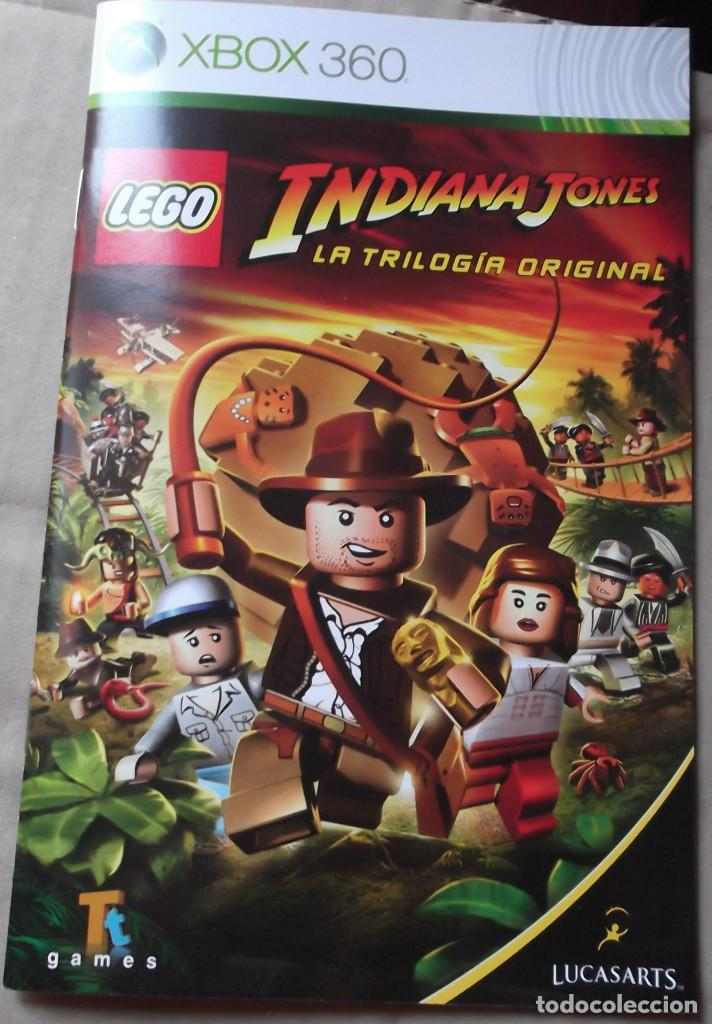 Lego Jone Indiana Manual Comprar Instrucciones Xbox 360 jR45AL