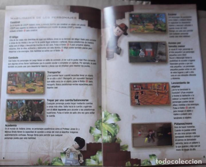 Manual Instrucciones Xbox 360 Lego Indiana Jone Buy Video Games