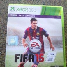 Videojuegos y Consolas: JUEGO -- FIFA 15 -- XBOX 360 -- . Lote 131052196